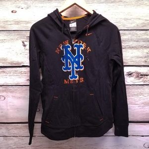 Nike New York Mets Full Zip Hooded Sweater